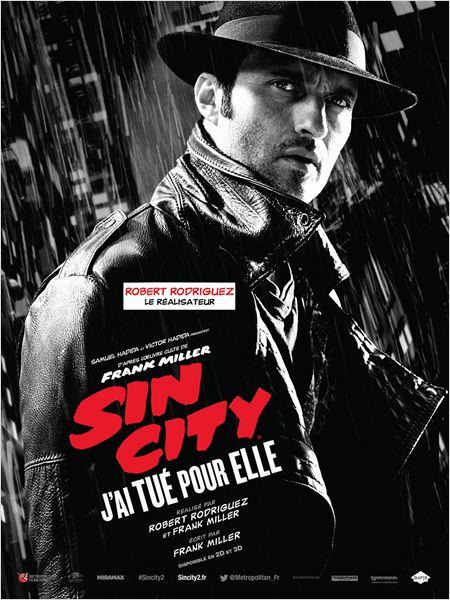Sin City : j'ai tué pour elle : Affiche