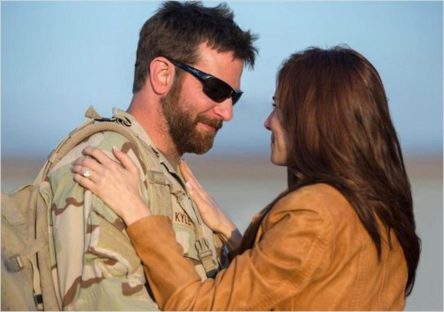 American Sniper : Photo Bradley Cooper, Sienna Miller