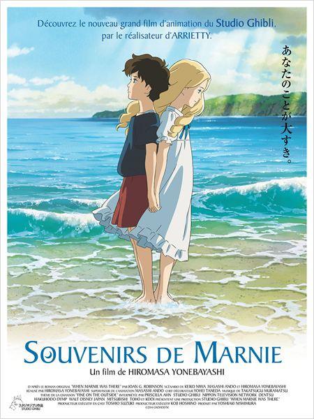 Souvenirs de Marnie : Affiche