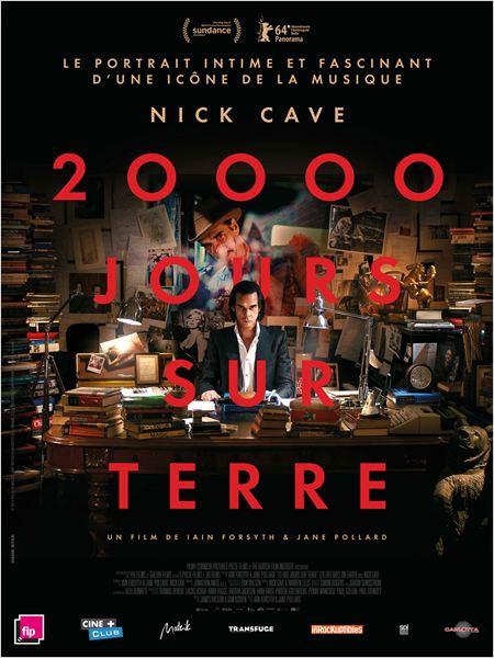 20 000 jours sur Terre : Affiche