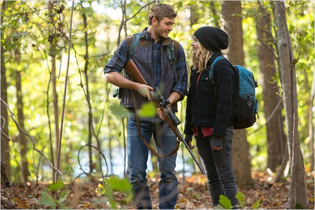 La 5ème vague : Photo Alex Roe, Chloë Grace Moretz