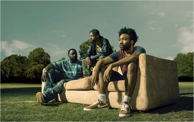 Photo Brian Tyree Henry, Donald Glover, Keith Stanfield