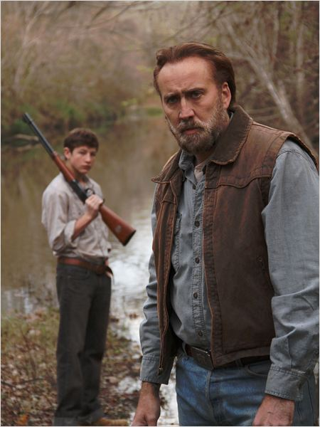 Joe : Photo Nicolas Cage, Tye Sheridan