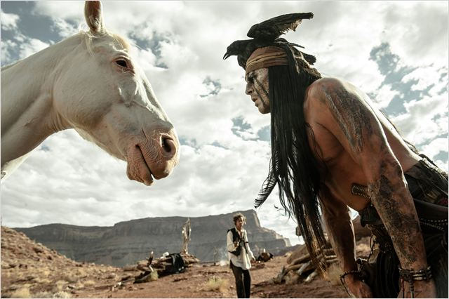 Lone Ranger, Naissance d'un héros : Photo Johnny Depp