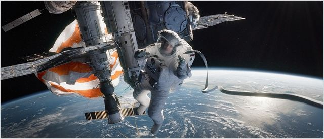 Gravity : Photo Sandra Bullock