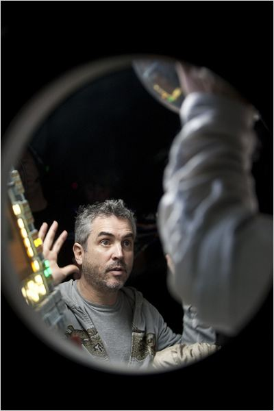 Gravity : Photo Alfonso Cuarón