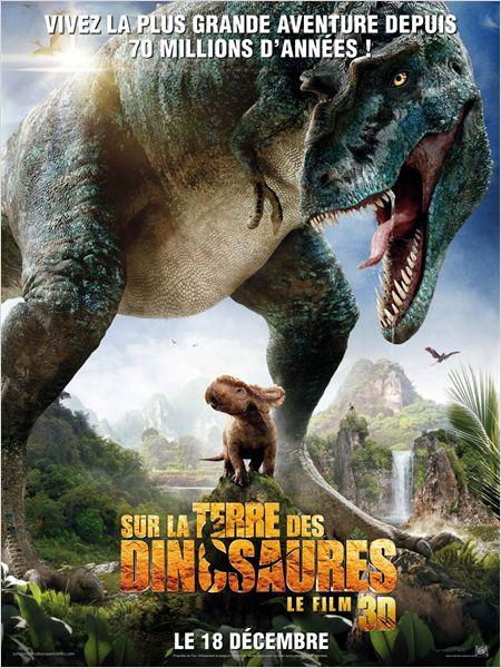 Sur la terre des dinosaures, le film 3D ddl