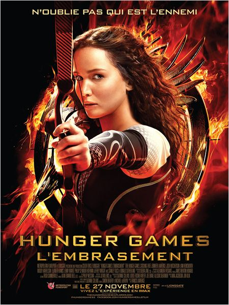 Hunger Games - L\'embrasement
