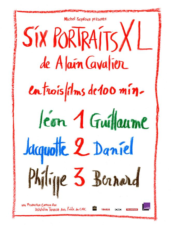 Six portraits XL : 1 Léon et Guillaume