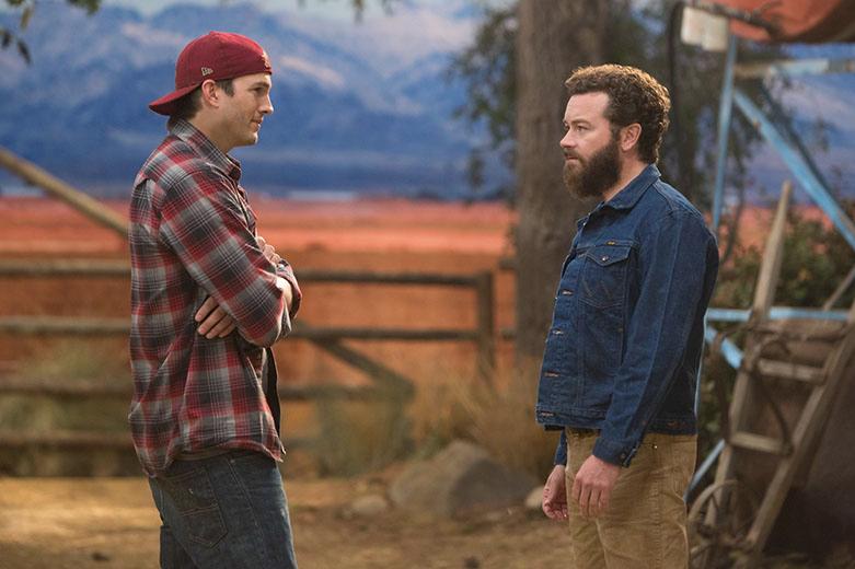 Ashton Kutcher et Danny Masterson