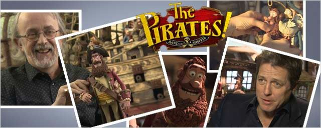 """Les Pirates !"" : visite des studios Aardman ! [VIDEO]"