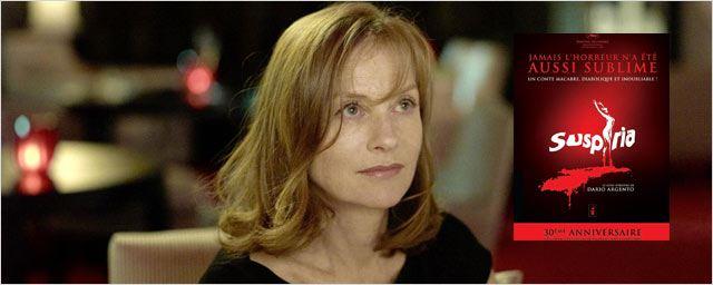 "Isabelle Huppert dans le remake de ""Suspiria"" !"