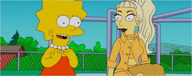 "Audiences US: Lady Gaga prête main forte aux ""Simpson"""