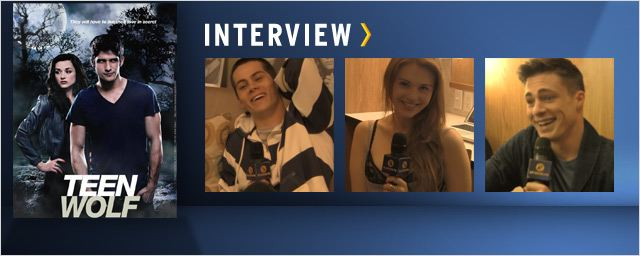 """Teen Wolf"": Dylan O'Brien, Colton Haynes et Holland Roden au micro ! [VIDEO]"
