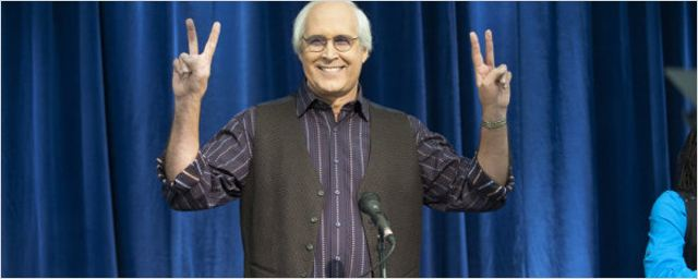 "Chevy Chase quitte ""Community"""