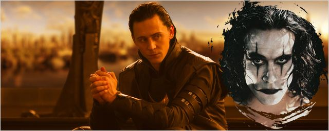 "Tom Hiddleston : de Loki à ""The Crow"" ?"