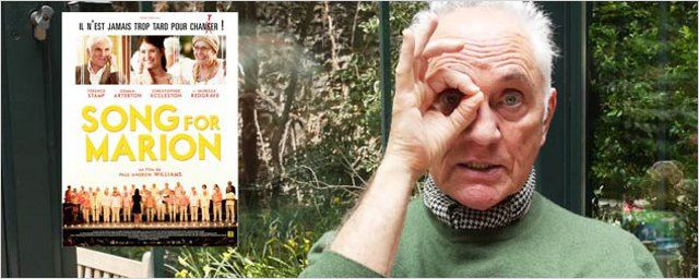 """Song for Marion"" : interview-carrière avec Terence Stamp"