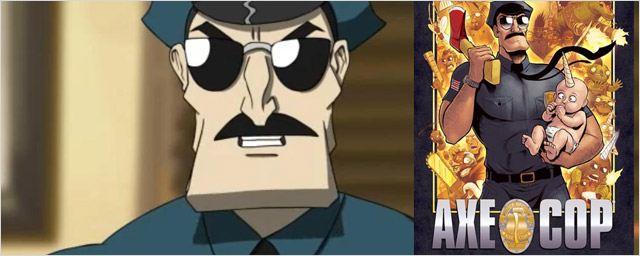 """Ce que pense la presse US de la série animée """"Axe Cop"""""""