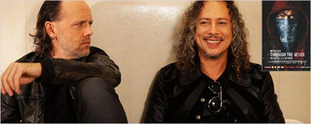 Metallica fait son cinéma... rock ! [INTERVIEW]