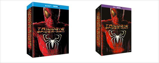 """La 1e trilogie """"Spider-Man"""" de retour en format UltraViolet"""
