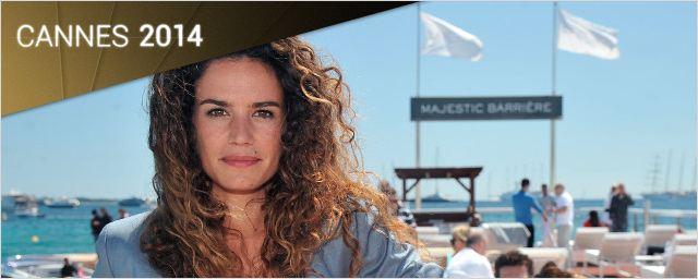 Cannes 2014 : Barbara Cabrita invitée des déjeuners AlloCiné sur la plage du Majestic