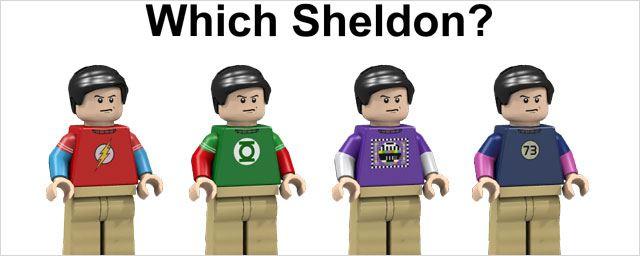 Big Bang Theory : Sheldon, Penny et les autres en Lego