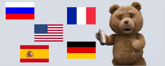 Ted 2 : ses voix anglaise, française, allemande, espagnole et russe !