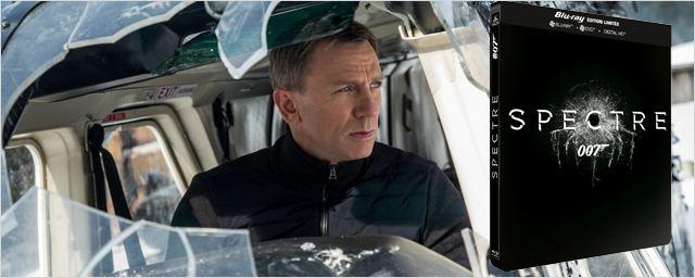007 Spectre : le nouveau James Bond sortira en Blu-ray et DVD le...