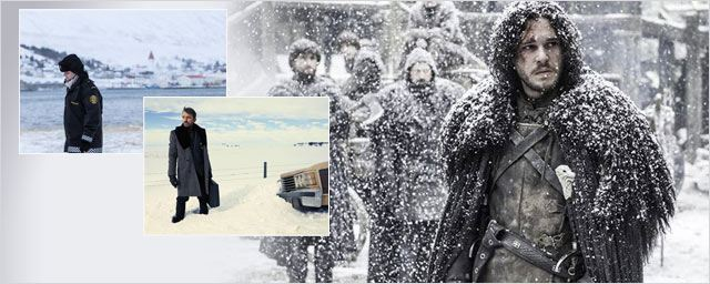 "Fortitude, Glacé, Game Of Thrones... ""Winter is coming"" sur les séries !"
