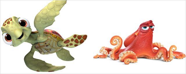Le Monde de Dory : les personnages du nouveau film Pixar en images !