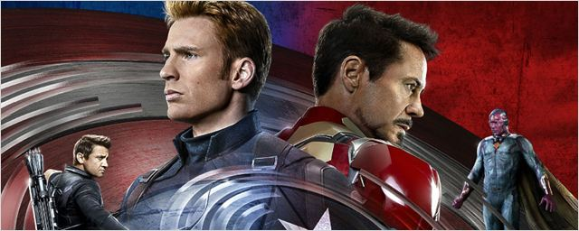 Civil War : les Team Captain America et Iron Man au complet sur l'affiche IMAX