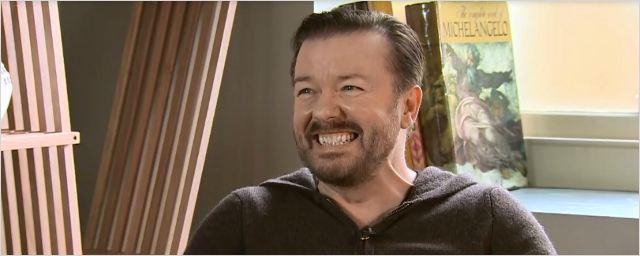 """Ricky Gervais (Special Correspondents) : """"J'aime me faire maltraiter à la télé !"""""""