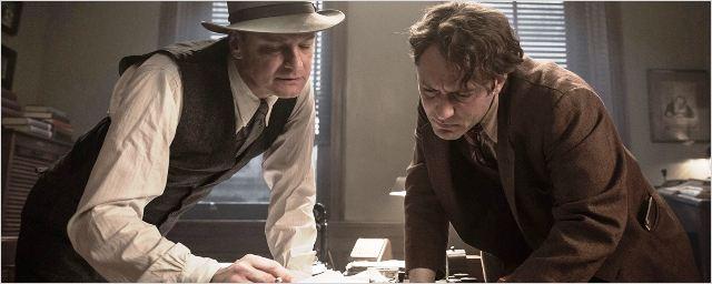Bande-annonce Genius : Jude Law en écrivain exalté et torturé affronte un flegmatique Colin Firth