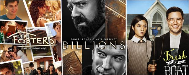 Billions, Fresh Off the Boat, Happy Endings... Ces séries qu'on désespère de voir arriver en France !