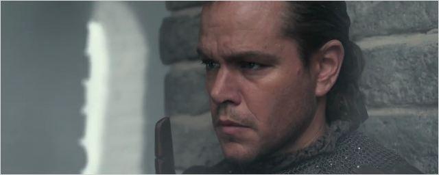 La Grande Muraille : Matt Damon découvre son ennemi dans la nouvelle bande-annonce