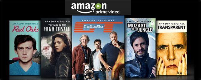 Amazon Prime Video : lancement en France avec Transparent, The Man in The High Castle...
