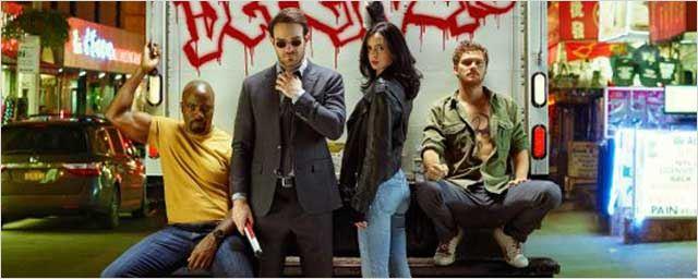Les Defenders enfin rassemblés sur les premières photos de la série Marvel