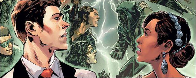 Arrow, Flash, Supergirl : le nouveau cross-over de la CW dévoile son titre et une affiche