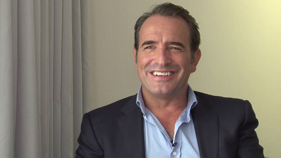 Jean dujardin interview pour le film un une allocin for Film jean dujardin