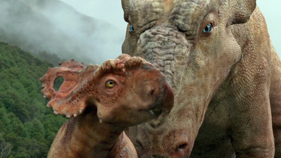 Teaser sur la terre des dinosaures le film 3d sur la - Dinosaure film gratuit ...