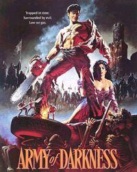 Affiche du film Evil Dead III : l'armée des ténèbres