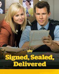 Affiche de la série Signed, Sealed, Delivered