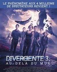 Affiche du film Divergente 3 : au-delà du mur