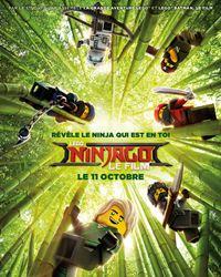 Affiche du film LEGO Ninjago : Le Film