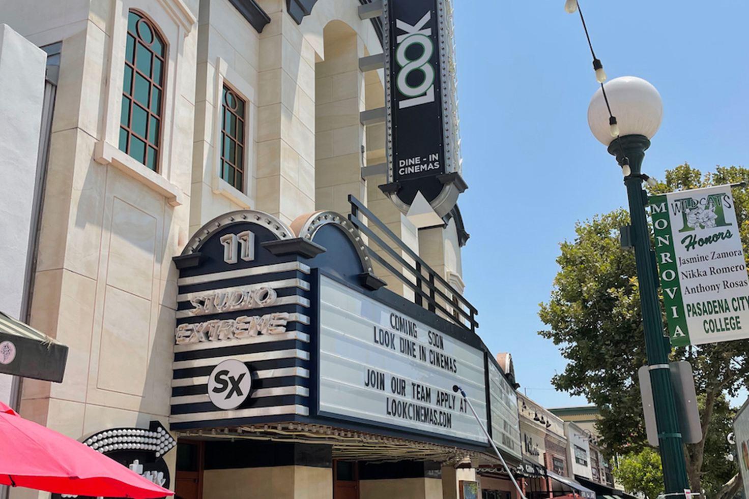 Monrovia, CA - LOOK Dine-in Cinema