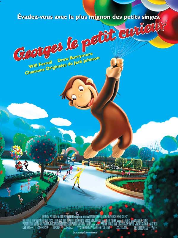Télécharger Georges le petit curieux HDLight 720p HD