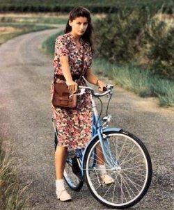 Affiche de la série La Bicyclette bleue