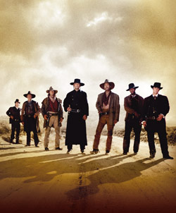 Affiche de la série Les Sept mercenaires