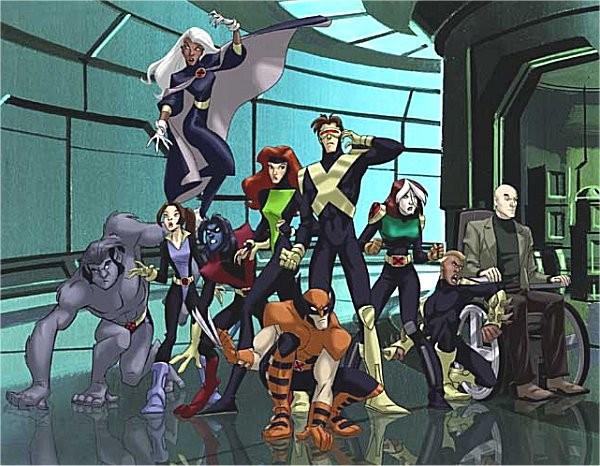 Affiche de la série X-Men Evolution
