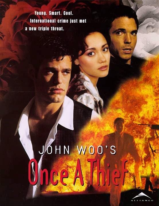Affiche de la série Once a thief